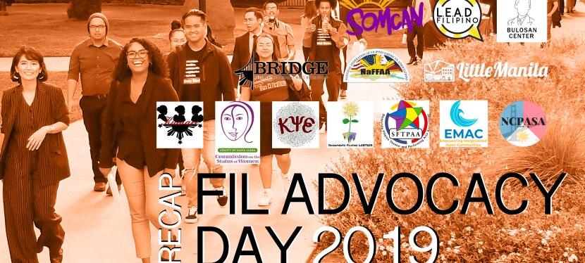 Recap: Fil Advocacy Day 2019