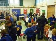 Children organise and run Christmas Fayre