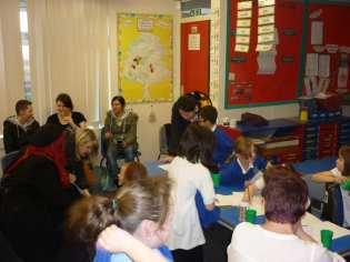 Parents attend half termly Learning Assembly