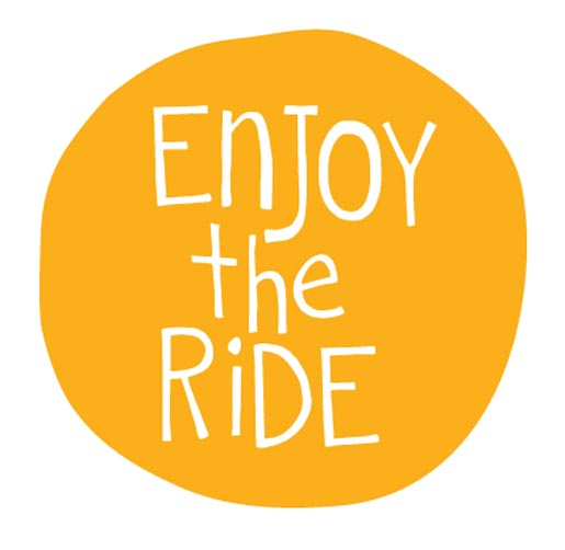 enjoy the ride leading