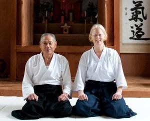 Motomichi Anno Sensei & Linda Holiday Sensei