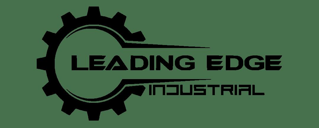 Leading Edge Industrial Logo - Solid Black