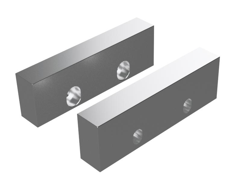 Leading Edge Industrial Aluminum Soft Jaw Set