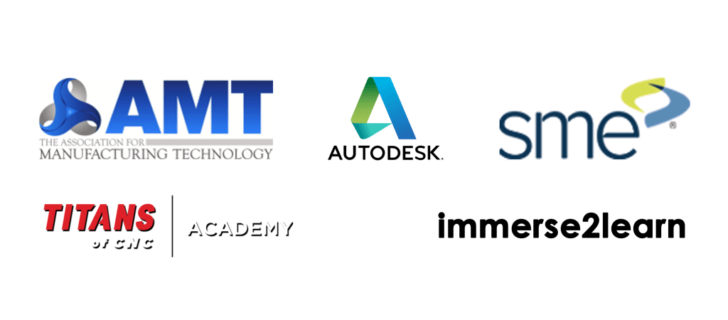 AMT Autodesk SME TITANS of CNC Academy Immerse2Learn
