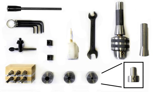 HX8610 VMC Basic Tool Set