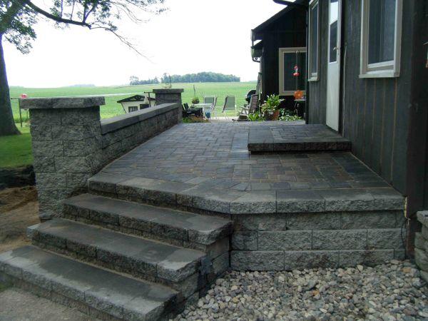 paver patio steps designs paver patio steps – Leading Edge Landscapes