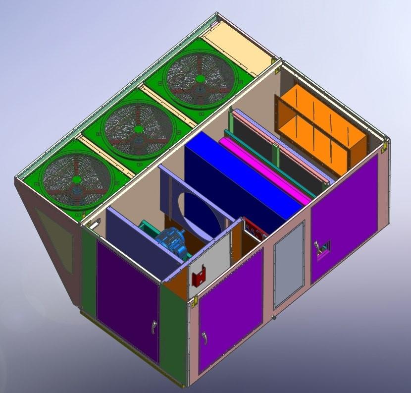 AC Enclosure 3D Model