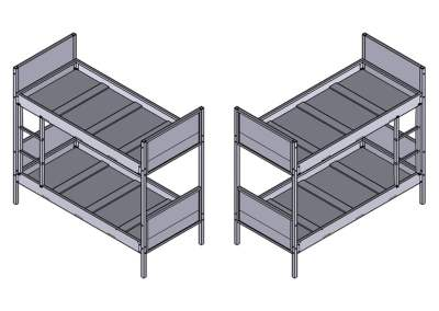 Module Bunk Beds · 1000 Series
