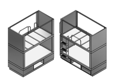 Module Bunk Beds · 2000 Series