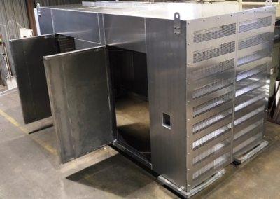 Generator Enclosure   Leading Edge Mfg.