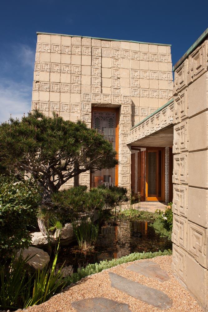 The Ennis House Frank Lloyd Wright Los Angeles