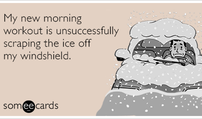 How are you enjoying the lingering cold?