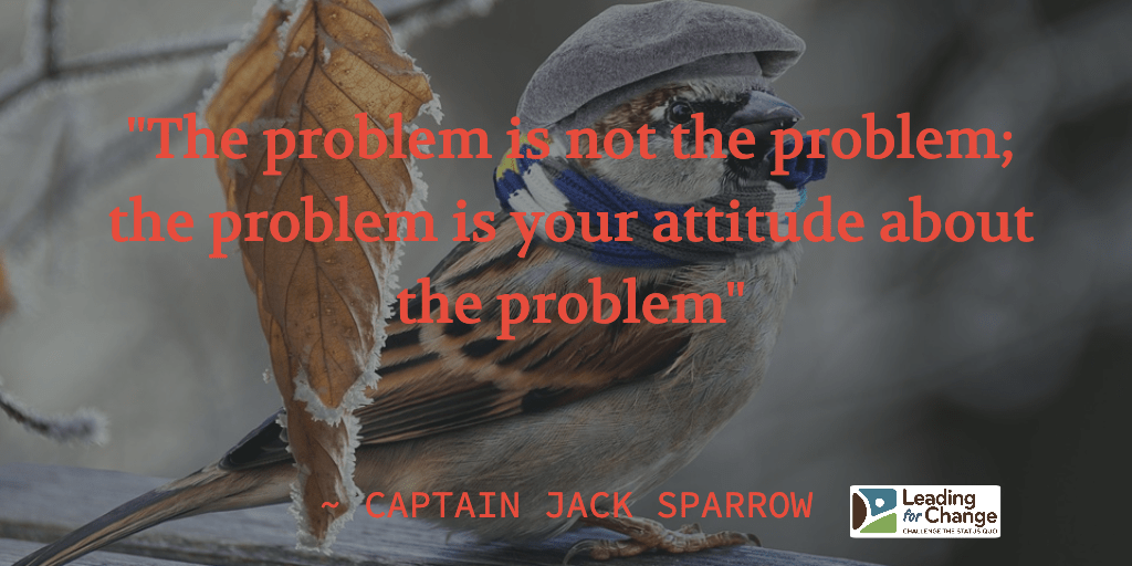 Learning leadership from a sparrow
