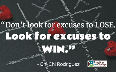 Don't give them excuses