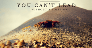 lead without a position