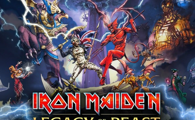 Iron Maiden Legacy Of The Beast Mobile Game Is A