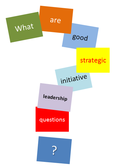 A Master List Of Questions For Strategic Initiatives