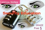 Lesson Note: 1st Term Grade 5 Security education Wk 2-3