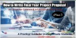 How to Choose Final Year Project Topics
