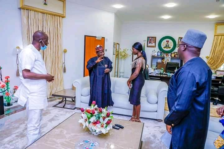 WAEC: Student with 9As Meets Governor