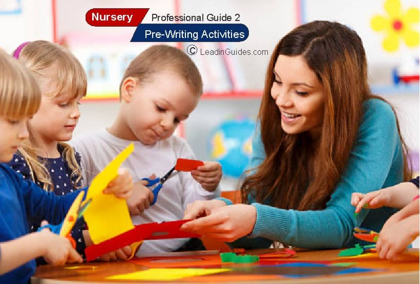 Lesson Note – Nursery First Term Pre-Writing Activities Week 7 & 8