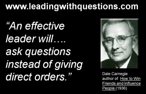 My Top Ten Favorite Leading with Questions Quotes