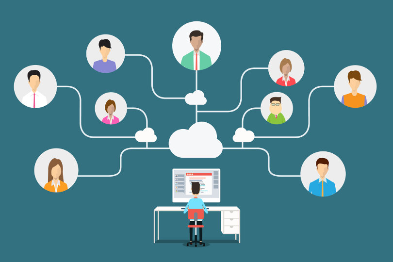 Virtual Team Cloud