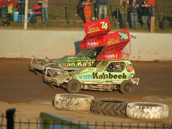 Stockcar F1 auf dem Dirt-Track © André Wiegold