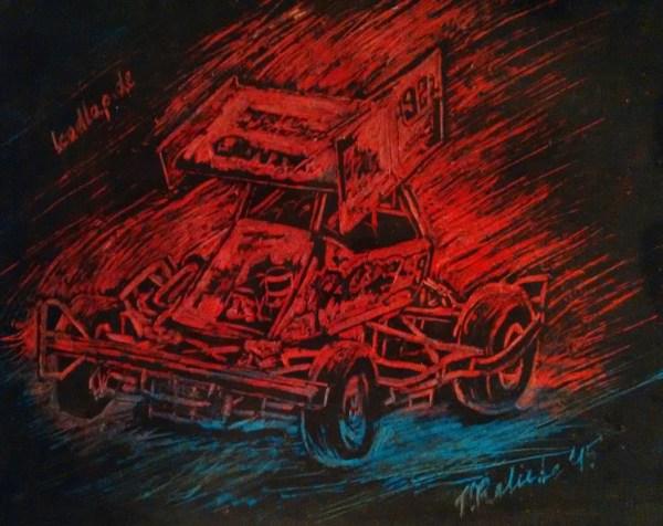 Peter Baer und sein Stockcar F2 © Sarah Kaliebe (leadlap.de)