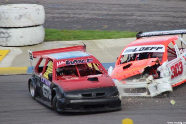 Harter Crash bei den 2l Hotrods! © André Wiegold