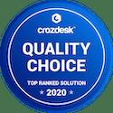 Crozdesk Quality Choice Badge