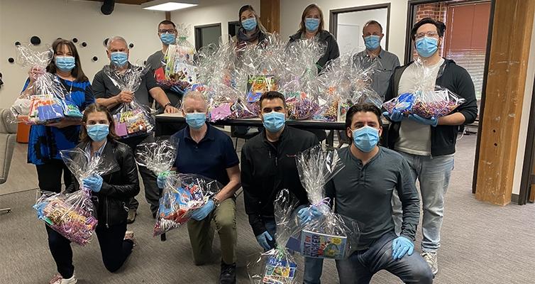 Community Impact Program Giving-Back Event: Baskets for Doernbecher Children's Hospital
