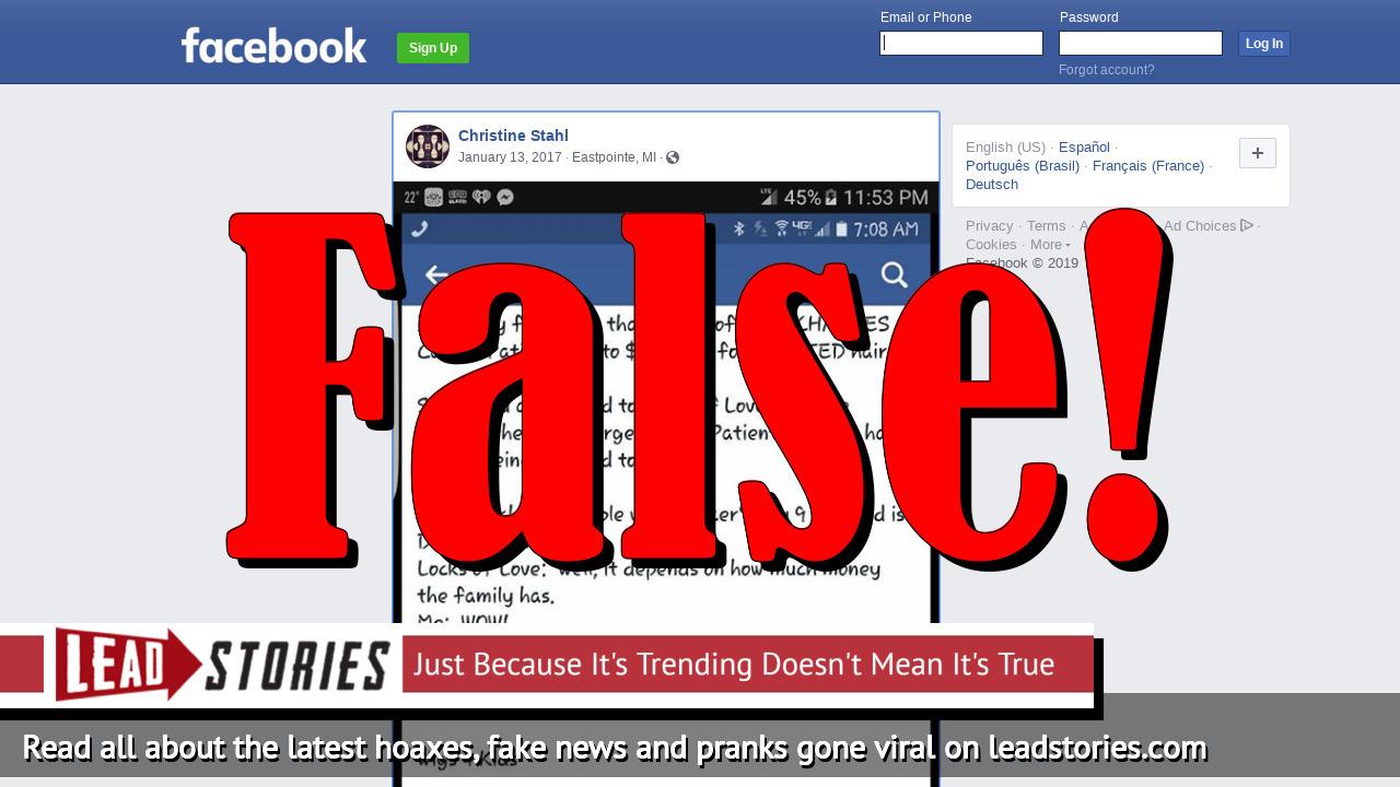 fake news locks of