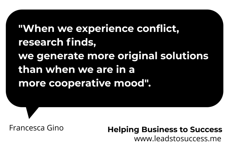conflict helps creativity
