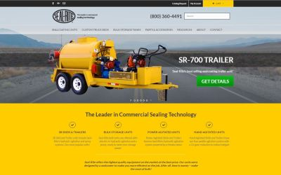 New Seal-Rite.Com Website Provides Solutions For The Commercial Sealcoating Industry