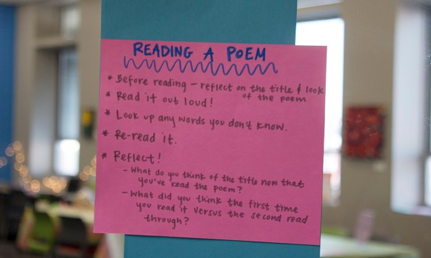 How Do You Work out a Poem?