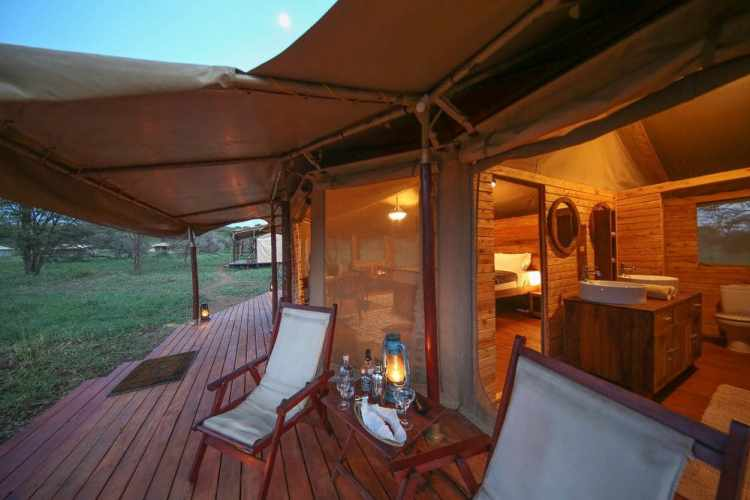Safari Vacation Package: tented camp in serengeti