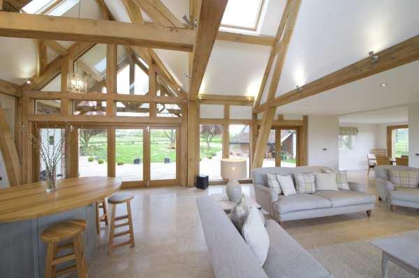 Oak Framed Kitchen Dining And Garden Room Extension