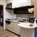 床下収納付きキッチンです。(キッチン)