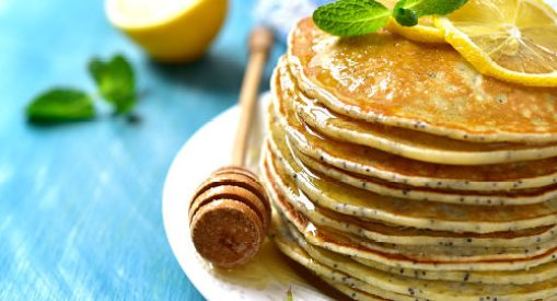 Healthy Pancakes Recipes You'll Skip Snooze Over Lemon Poppyseed Pancakes