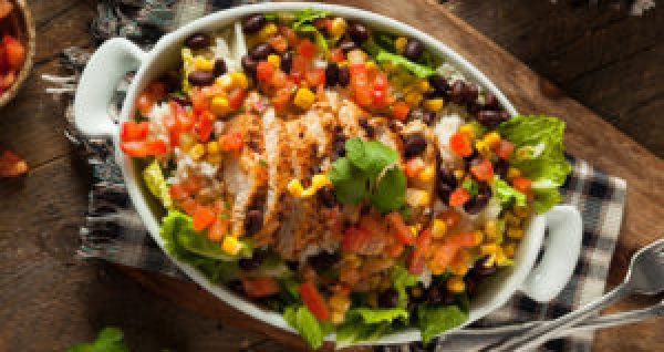 Southwest Grilled Chicken Salad Mexican Recipes