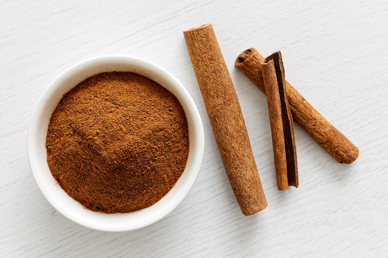 Cinnamon is a popular autumn spice