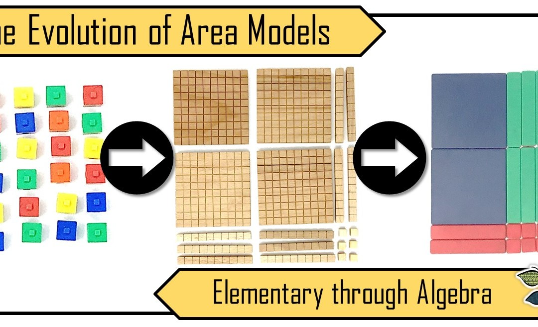 The Evolution of the Area Model: Elementary through Algebra