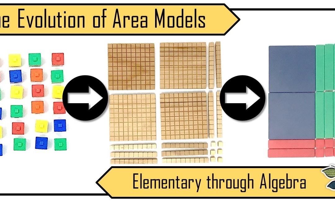 The Evolution of the Area Model: Elementary through Algebra
