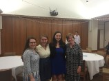 LEAF seniors with Rev. Courtney and Julie
