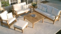 outdoor teak furniture - beauty