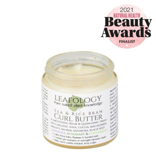 Curl Butter Leafology natural hair vegan skincare