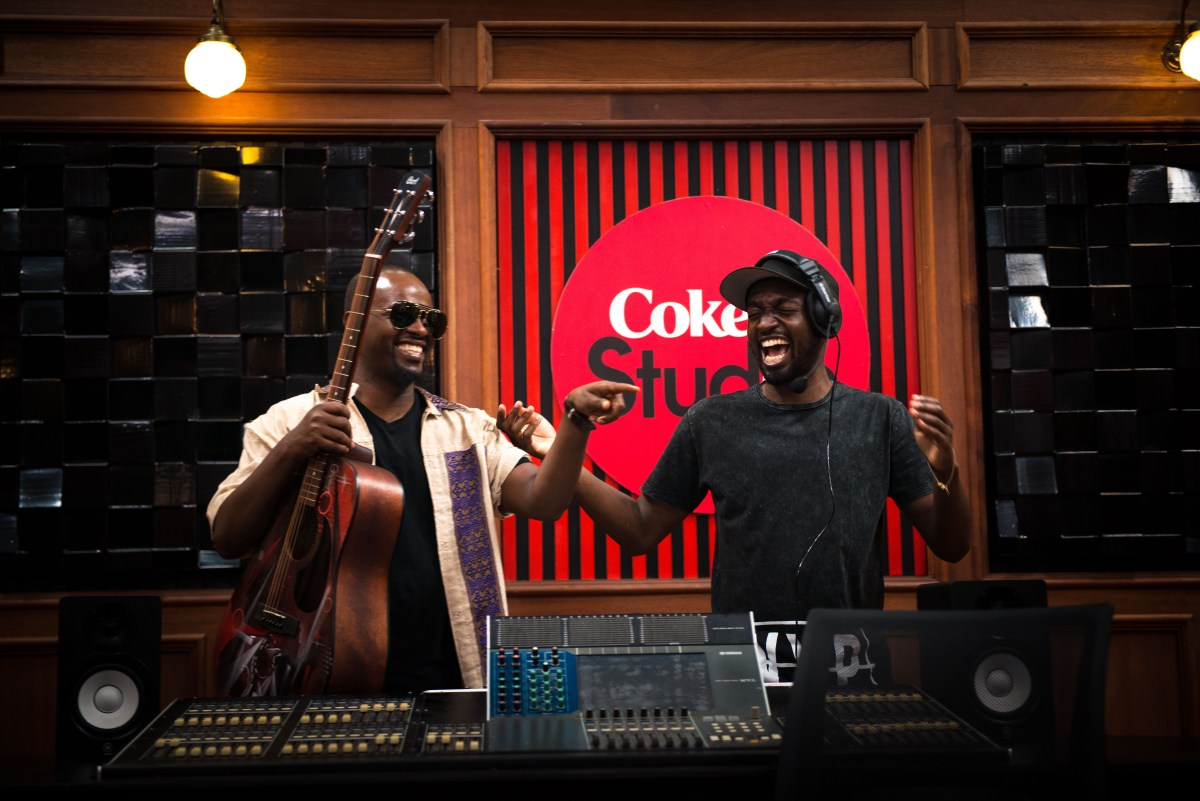 Sami Dan (LEFT) and Wesley Masilo (RIGHT) - Content Director Coke Studio....jpg
