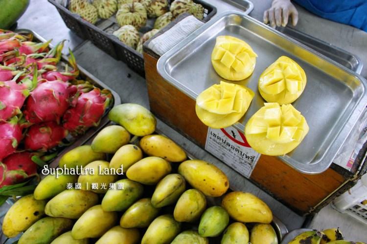 泰國羅永行程推薦 素帕他觀光果園 水果吃到飽 熱帶水果一應俱全 Suphattra Land