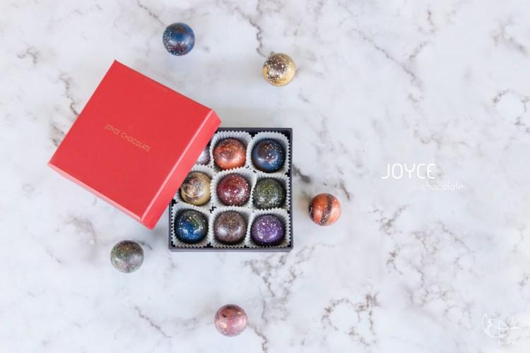 Joyce巧克力工房,將撒落滿天的星辰化作手中的心意,悄悄收進禮盒裡/宅配美食甜點/節日送禮推薦